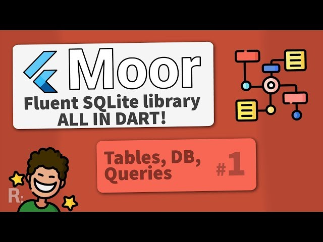 Moor (Room for Flutter) #1 – Tables & Queries – Fluent SQLite Database