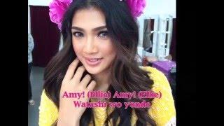 """Atikah Suhaime as Putri Elyana """"Ellie"""" (Dinosaur Pink) version from..."""