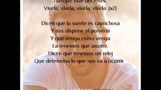 Pablo Alborán - Vívela (letra)