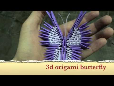 How To Make A 3d Origami Butterfly Tutorial Coming Soon