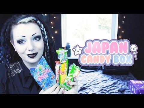 Irish Girl Tries Japanese Candy - Japan Candy Box   Toxic Tears