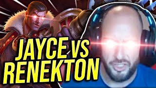 OBLITERATING JAYCE TOP WITH THE CROC?! RENEKTON VS JAYCE S9 - Road To Challenger | League of Legends