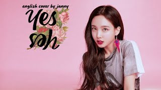 Gambar cover TWICE - YES or YES | English Cover by JANNY
