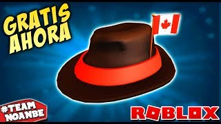 FREE ROBLOX Hat (Fedora without Robux) Roblox in Spanish