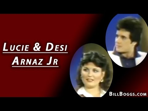 Lucie & Desi Arnaz JR Interview with Bill Boggs