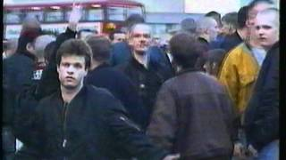 Blood and Honour routed by Anti Fascist Action at Waterloo 1992
