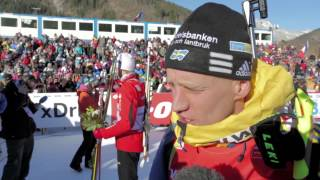 Carl Johan Bergman in Le Grand Bornand