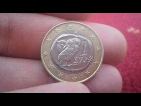 1 Euro Coin Greece. 1 EURO OWL COIN 2010