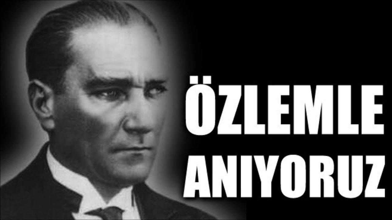 10 Kasım Atatürk İle İlgili sözler