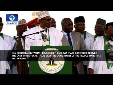 Buhari Launches Jigawa State Social Intervention Programme