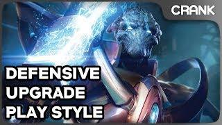 Defensive Upgrade Play Style - Crank's StarCraft 2 Variety