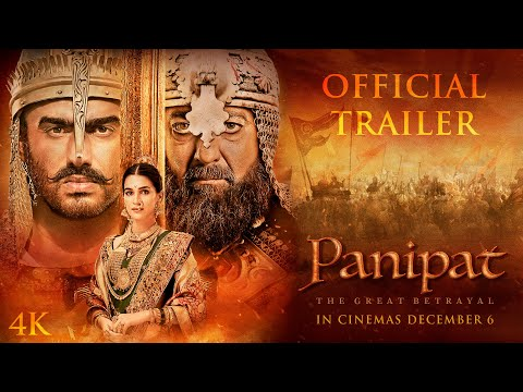 Panipat | Official Trailer |Sanjay Dutt, Arjun Kapoor, Kriti Sanon|Ashutosh Gowariker|In Cinema Now Mp3