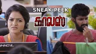 VJ Chitra gets kidnapped from the office | Calls Tamil Movie - Sneak Peek | Sabarish | MSK Movies