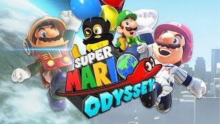 FINDING THINGS TO DO | Super Mario Odyssey | Satellaview and Baseball Outfit, Luigi's Balloon World
