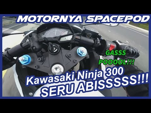 #7 Riding with SpaceP0D! Coba Zx-3R (Ninja 300) & fun riding with BMW S1000RR | Motovlog Indonesia