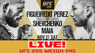 <b>UFC 255</b> Weigh-Ins: Figueiredo vs Perez | LIVE