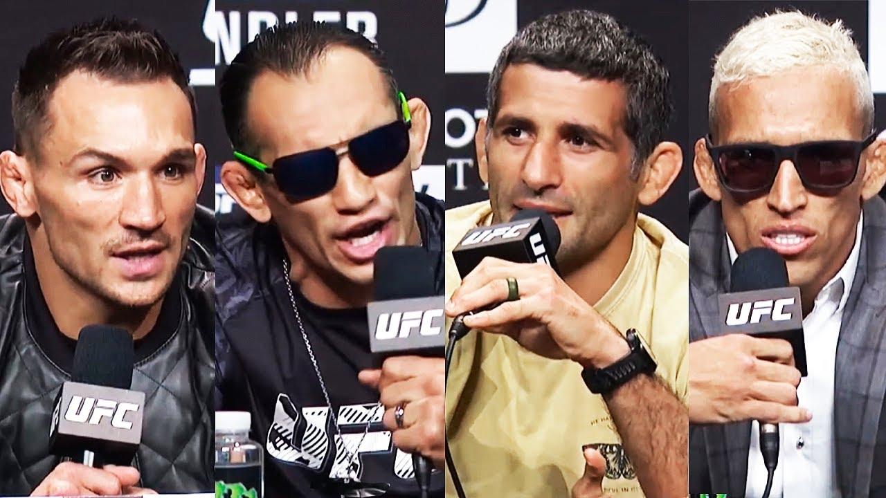 UFC 262: Пресс конференция Фергюсон - Дариуш, Чендлер - Оливейра перед боем