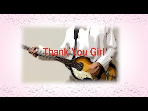 Thank You Girl - The Beatles karaoke cover