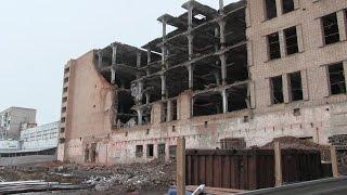 «Точки» застройки(На ул. Чернышевского, 52 ведется демонтаж здания бывшего мясокомбината для постройки двух высоток, а на Пушк..., 2015-12-01T21:54:42.000Z)