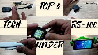 Top 5 Unique Gifts Under $5 || Cool Tech Gifts || Tech Gifts Under 250
