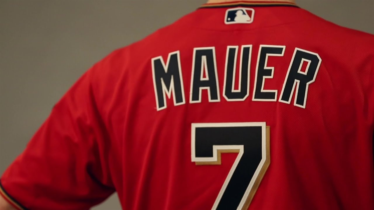 aeaa2c8f827 Twins unveil new red alternate jerseys and caps for 2016 - YouTube