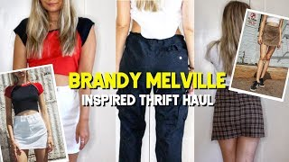 Brandy Melville Inspired Thrift Haul ☆