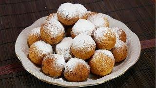 Пончики, шарики из творога