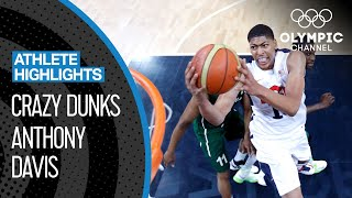 19-year-old Anthony Davis' Best Dunks at London 2012 | Athlete Highlights