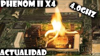 AMD Phenom ii x4 en la actualidad? que podemos hacer con el?