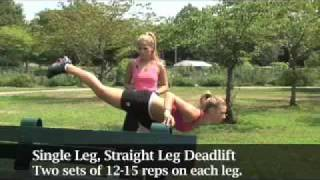 Total Body Toning Cardio Workout Video Thumbnail