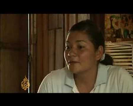 Victims of paramilitaries seek justice in Colombia -9 Jun 08