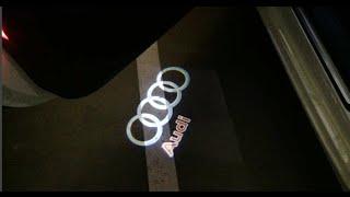 LED de puertas con LOGO: led ghost shadow light