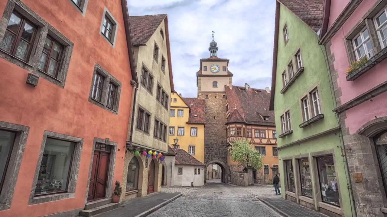 Rothenburg ob der tauber alemania unesco patrimonio de la humanidad youtube - Rothenburg ob der tauber alemania ...
