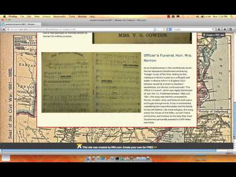 Joining the Fight: Women and The American Civil War Music.mp4