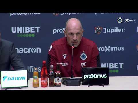 #ZWACLU   Philippe Clement blikt vooruit naar de match Zulte Waregem - Club Brugge   2019-2020