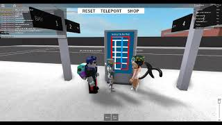 Roblox, Subway Testing Remastered, subway ride from Testing Park to North
