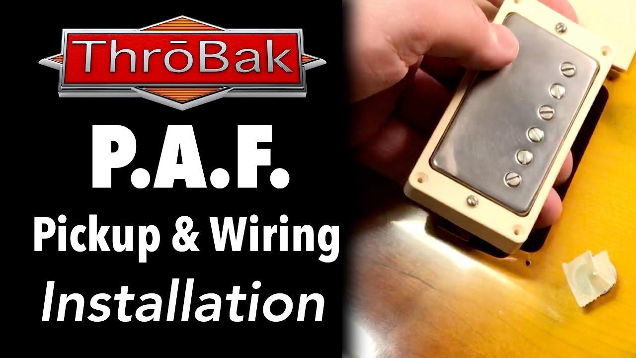 les paul wiring harness throbak 50 s style wiring kit for les paul electric guitars throbak [ 1280 x 720 Pixel ]