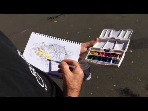 travel sketching  - made easy