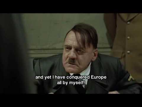 Hitler finds out Steiner wan't able to carry out the assault.