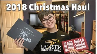 What I Got For Christmas Haul | 2018
