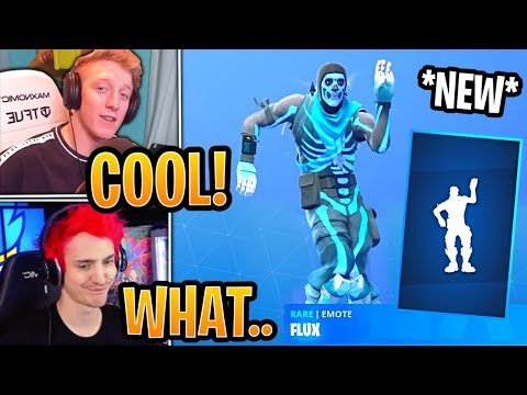 Streamers React To The *NEW* Flux Emote/Dance! - Fortnite Best And Funny Moments