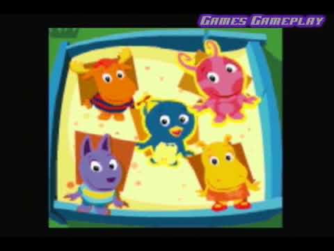 The Backyardigans Leapster Games