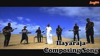 Ilayaraja composing BG for Naadi Thudikuthadi.