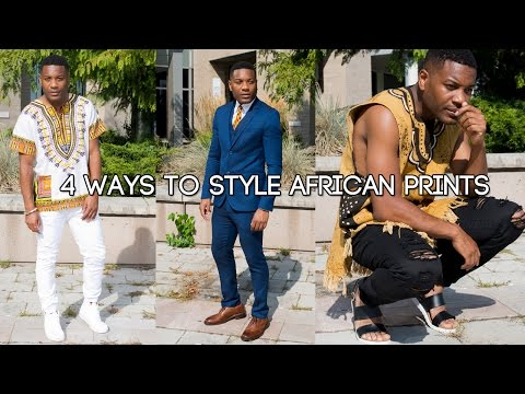 4 ways to style African prints for men