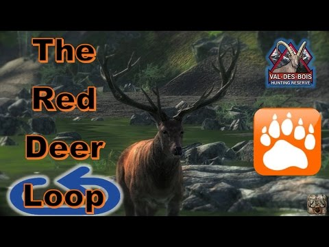 """The Red Deer Loop"" on Val-Des-Bois 