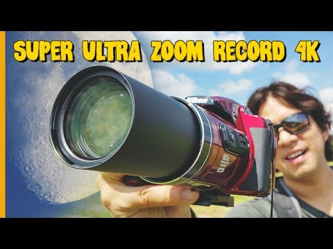 NIKON COOLPIX B700 | ULTRA ZOOM 4K MOON TESTS REVIEW & UNBOXING