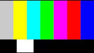 Television Color Bars Test Pattern NTSC HD PAL