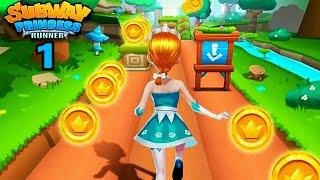 Subway Princess Runner Game Play #1| 🏃 Amazing High Score First Run