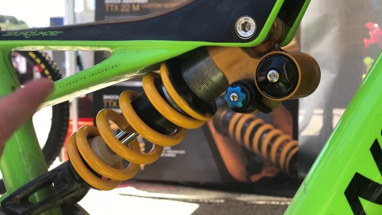 Ohlins Ttx 22 M How To Adjust Set Up Sea Otter Classic 2018 Youtube