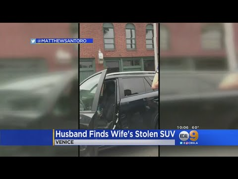 Man Stumbles Upon His Wife's Stolen SUV -- And Then Story Got Stranger